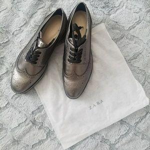 Zara Silver Oxford